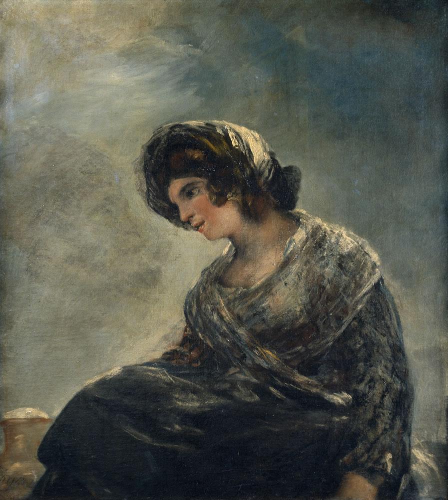 La lechera de Burdeos, de Goya