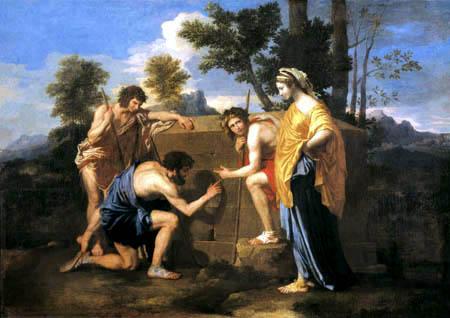 Los pastores de Arcadia, de Nicolas Poussin