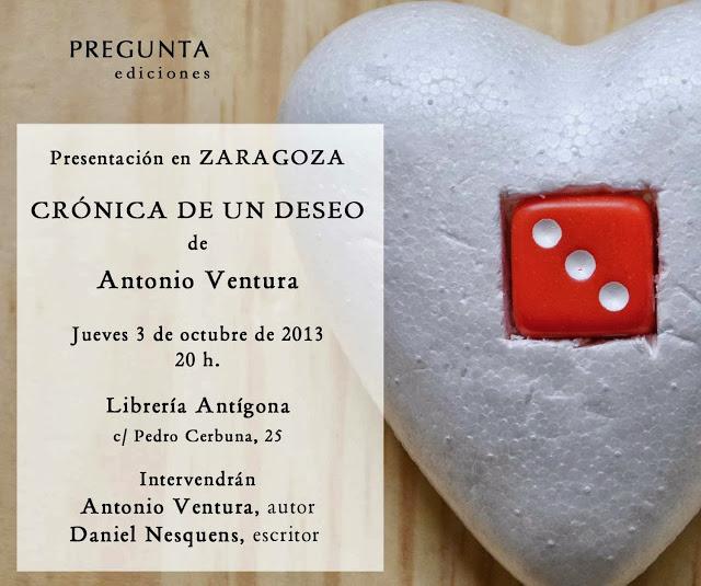 Crónica de un deseo en Zaragoza