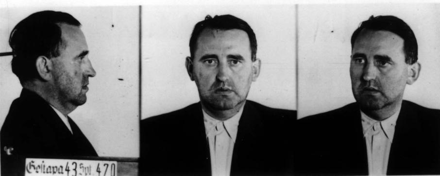 Fotos de Georg Groscurth tomadas por la Gestapo tras su detención
