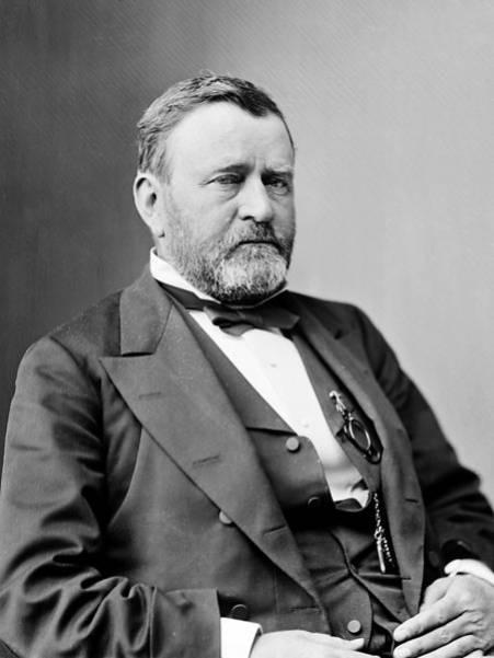 Nube Roja se sintió ofendido por la indiferencia del presidente Grant hacia los problemas de los indios.