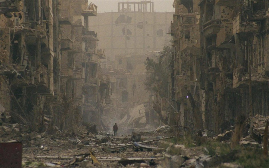 La ciudad siria Deir al Zor - Fotografía de Jalil Ashaui (Reuters)