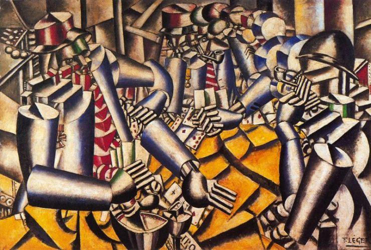La partida de cartas (Leger, 1917)