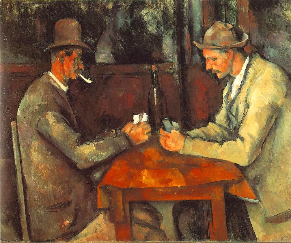 Los jugadores (Paul Cézanne)