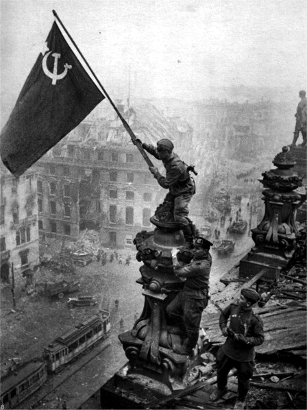 Los rusos entran en Berlín