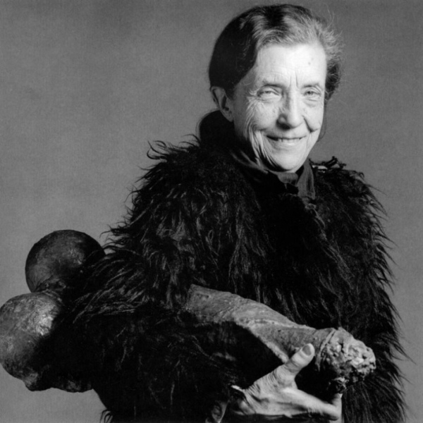 Louise-bourgeois-Foto Robert Mapplethorpe