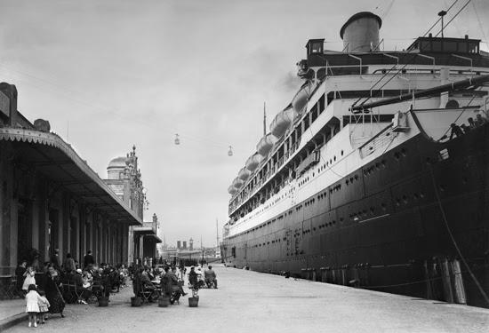 Puerto de Barcelona años 20