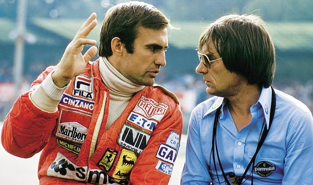 Simon Fuller y Bernie Ecclestone p