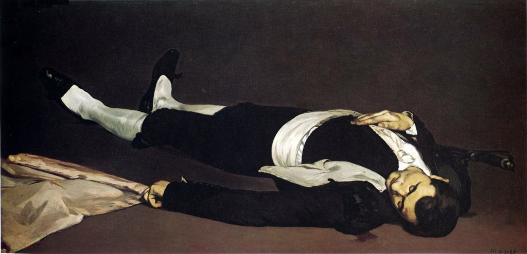 Torero muerto, de Édouard Manet