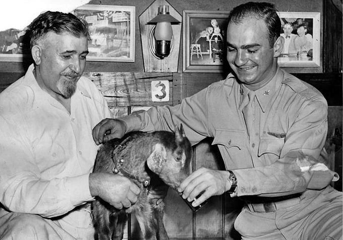 William Sianis y la cabra Murphy