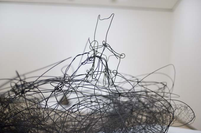 Detalle de Maqueta para Nube y silla Antoni Tàpies, del objeto a la escultura   Jotdown