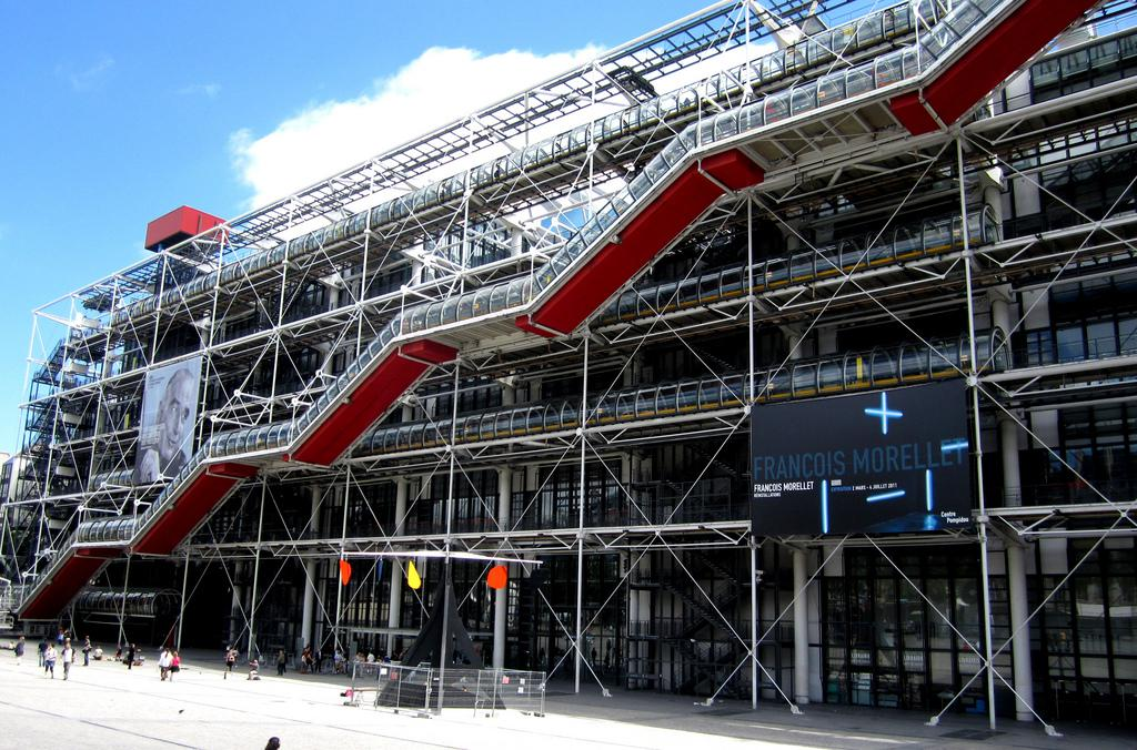 Si van a par s y solo pueden ver una cosa visiten el centro pompidou - Les cents ciels paris 11 ...