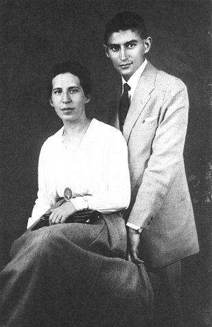 Frnaz Kafka y Felice Bauer