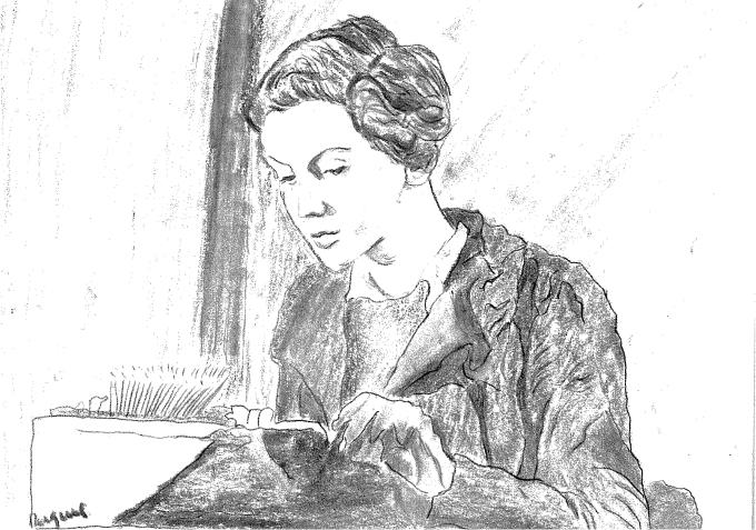 Gerda Taro - Ilustración de Raquel Villaécija