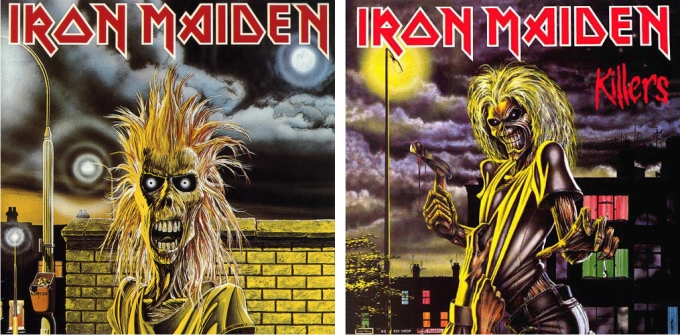 Iron Maiden y Killers