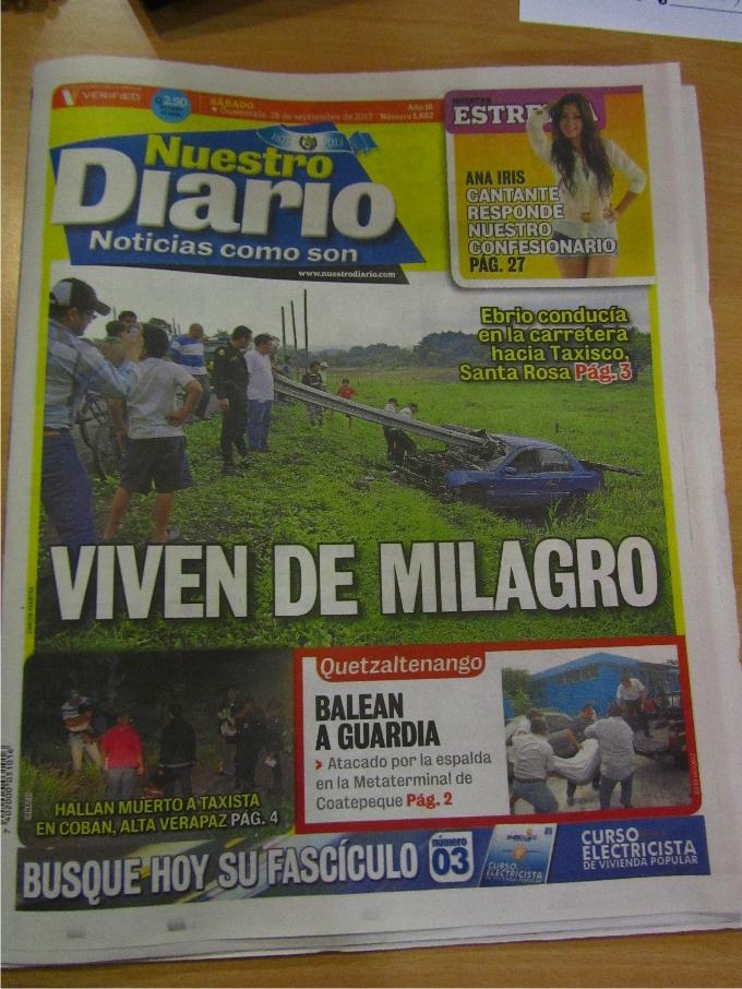 Redacción de Nuestro Diario - Fotografía de Jordi Pérez Colomé 2