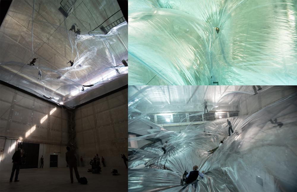 Fotos ® Studio Tomás Saraceno y Hangar Bicocca.