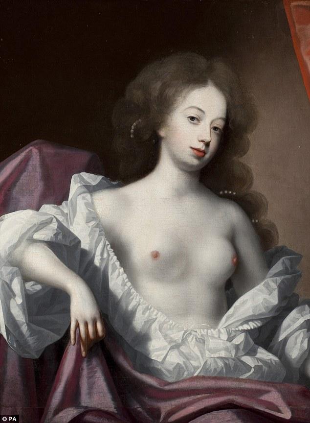Nell Gwyn, por Simon Pietersz Verelst.