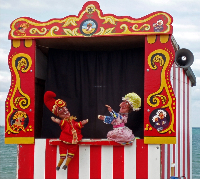 Swanage Punch and Judy.