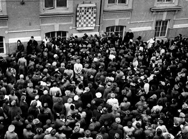 Con esta pasión se seguía el ajedrez en la antigua Unión Soviética.