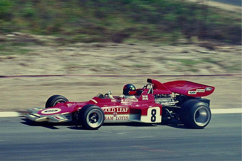 Emerson Fittipaldi en 1972. Foto: Lothar Spurzem (CC).