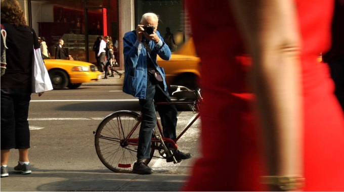 Fotograma de Bill Cunningham New York. Foto Zeitgeist Films Cordon Press.