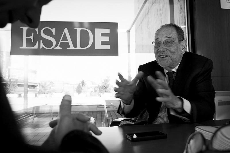 Javier Solana: «En este país estamos perdiendo la decencia»