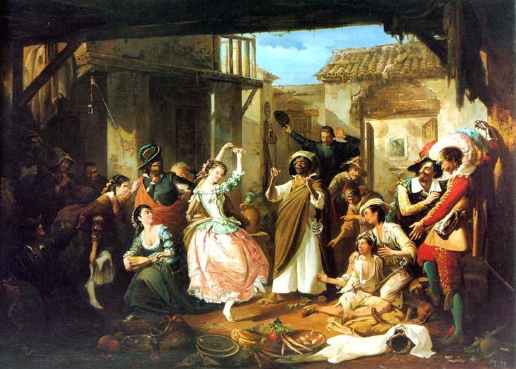 Rinconete y Cortadillo, por Manuel Rodríguez de Guzmán.