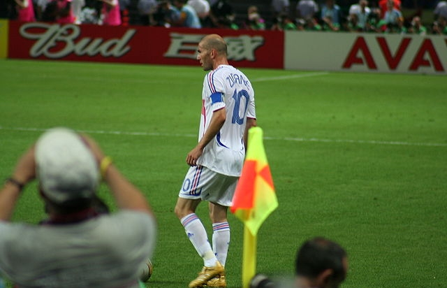 Zinedine Zidane. Foto: David Ruddell (CC).