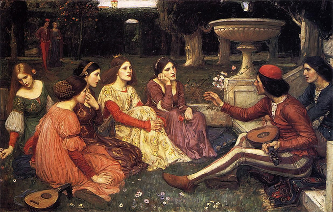 A-TALE-FROM-DECAMERON-WATERHOUSE