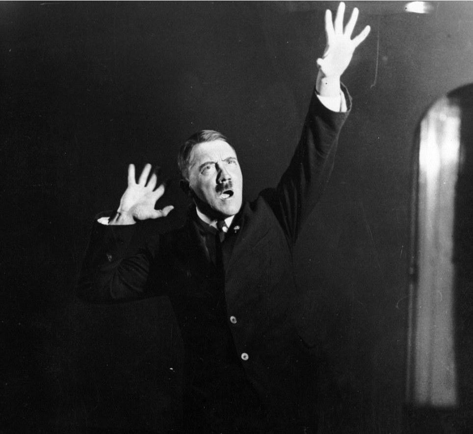 Adolf Hitler. Foto: Heinrich Hoffmann (DP)