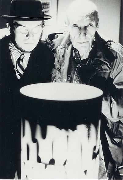 David Woodard y William Burroughs. Foto Riefensthal (CC)