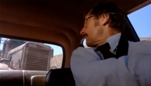 """El maléfico camión de """"Duel"""": uno de los más logrados personajes """"inanimados"""" de todos los tiempos."""