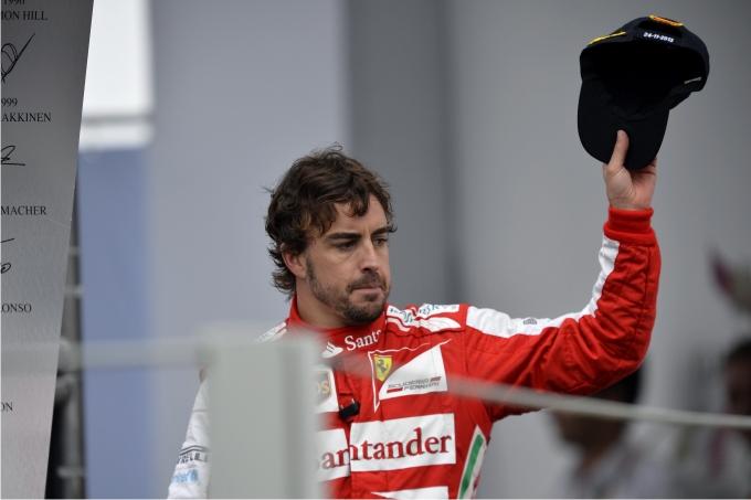 Fernando Alonso. Foto PRESSE SPORTS  Cordon Press