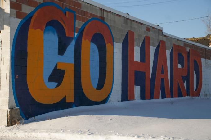 Graffiti en Corktown. Foto: