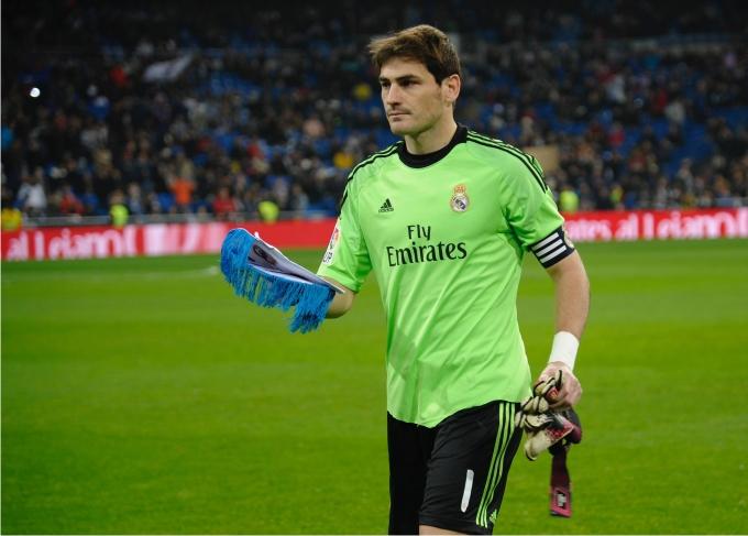Iker Casillas. Foto Gregorio López Cordon Press