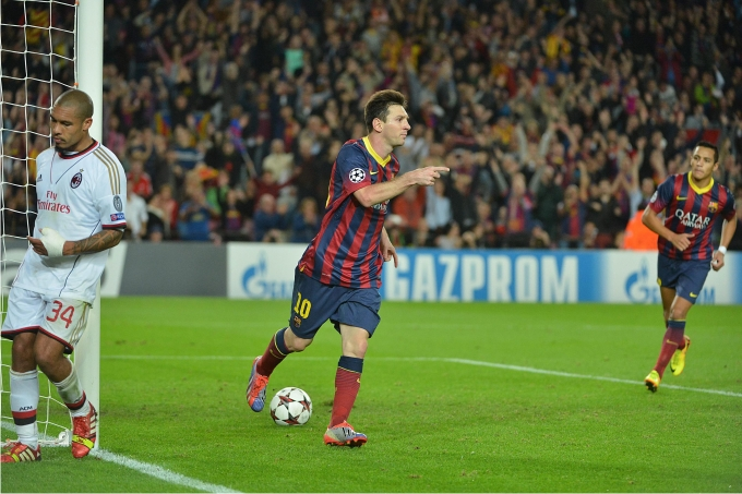 Lionel Messi. Foto PRESSE SPORTS  Cordon Press