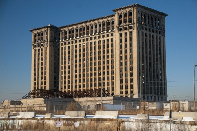 Michigan Central Station. Foto: