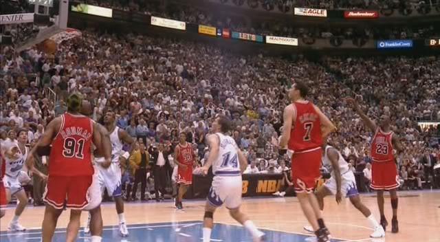 La resonancia más célebre en la historia de la NBA (Michael Jordan, Utah, 14/VI/1998).
