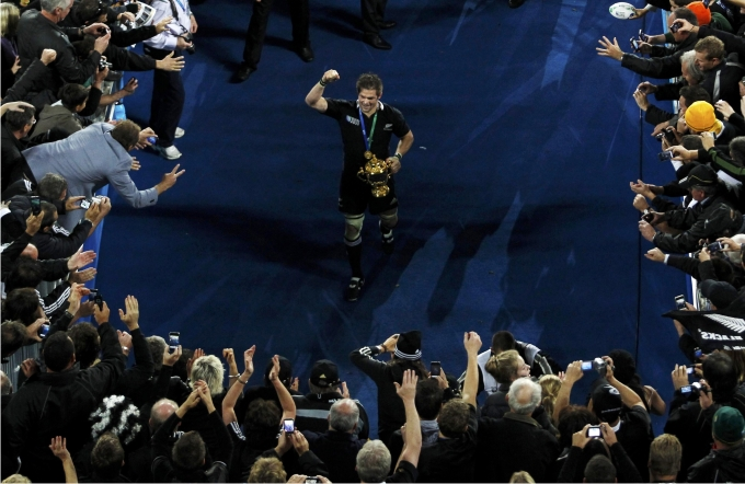 Richie McCaw. Foto: Reuters / Cordon Press.
