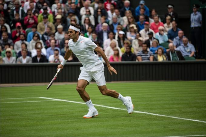 Roger Federer. Foto Barnaby Nerberka  Demotix  Cordon Press