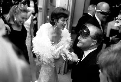 Truman Capote en The Black and White Ball. Fotograma de la película.