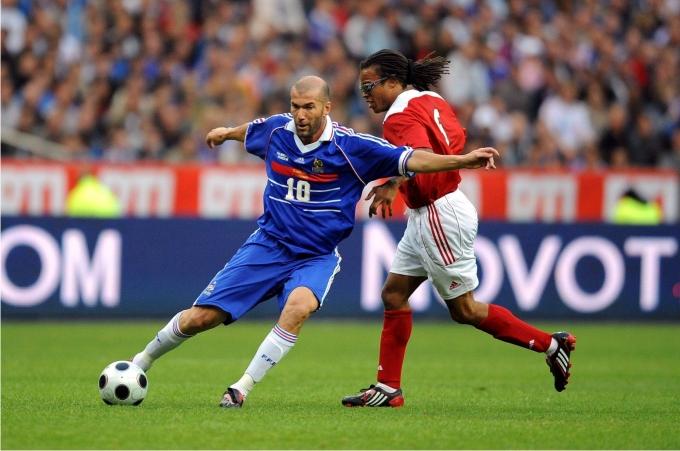 Zinedine Zidane. Foto imago sportfotodienst Cordon Press