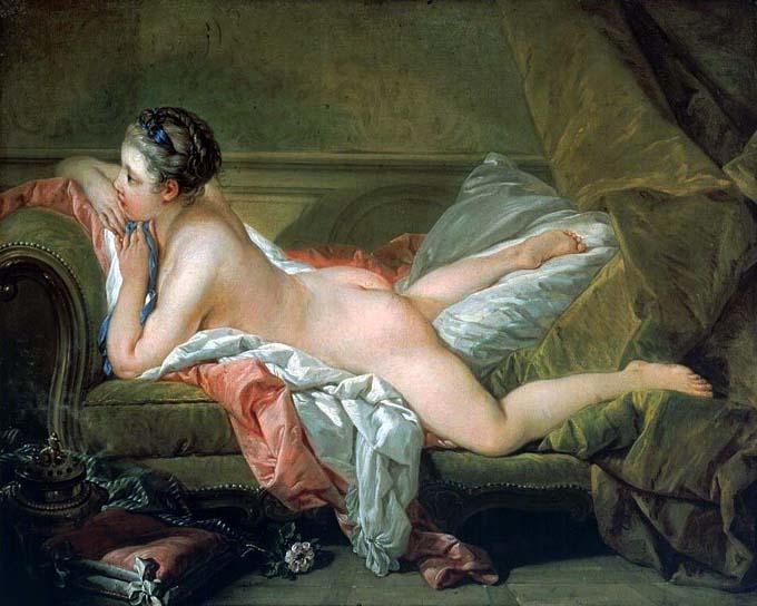 4. François Boucher, Odalisca rubia