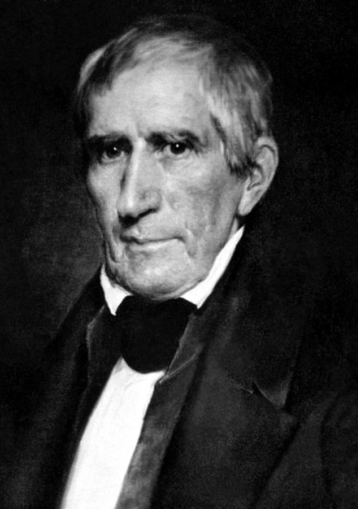 Daguerrotipo de W.H. Harrison (PD)