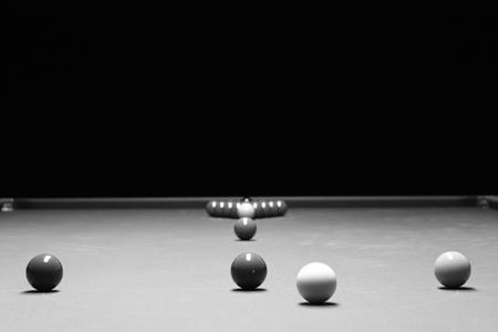 Snooker: el vórtice de silencio