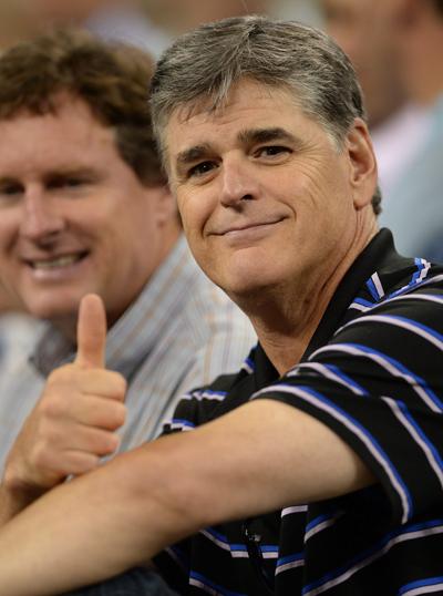 Varias estrellas de la cadena Fox News se han destacado en la defensa del ideario del Tea Party. En la imagen, el presentador Sean Hannity. (Foto: INFphoto.com/Cordon Press)