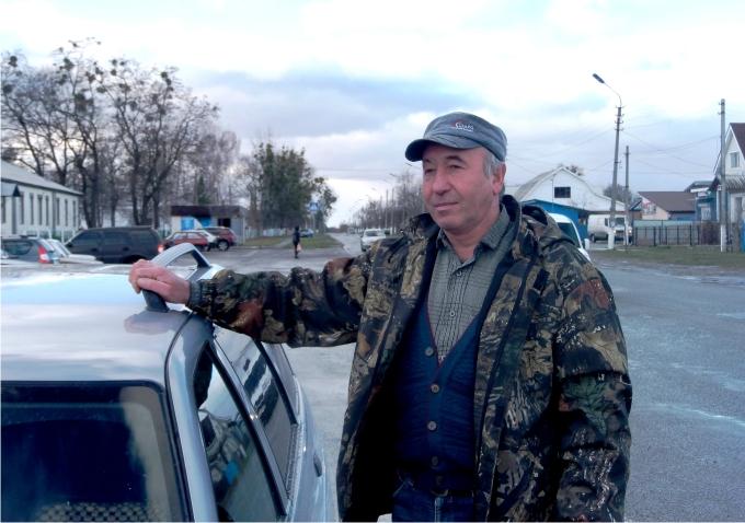 Vasili Koválchuk, liquidador de Chernóbil. Foto Ander Izaguirre.