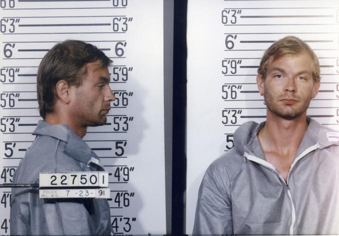 Ficha policial de Dahmer. Fotografía: Corbis