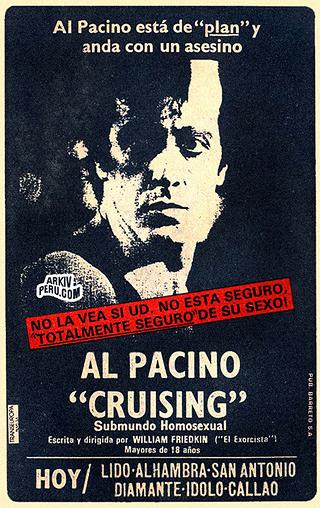 Cruising De Al Pacino Blanco Equivocado Los Movimientos Gais